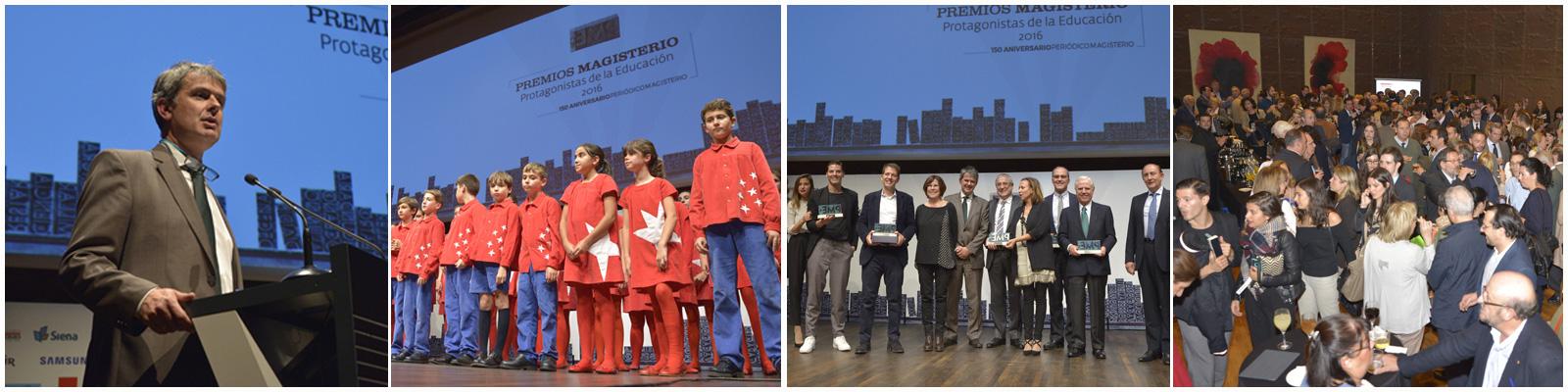 Todas las imágenes de la entrega de premios EDICIÓN 2016