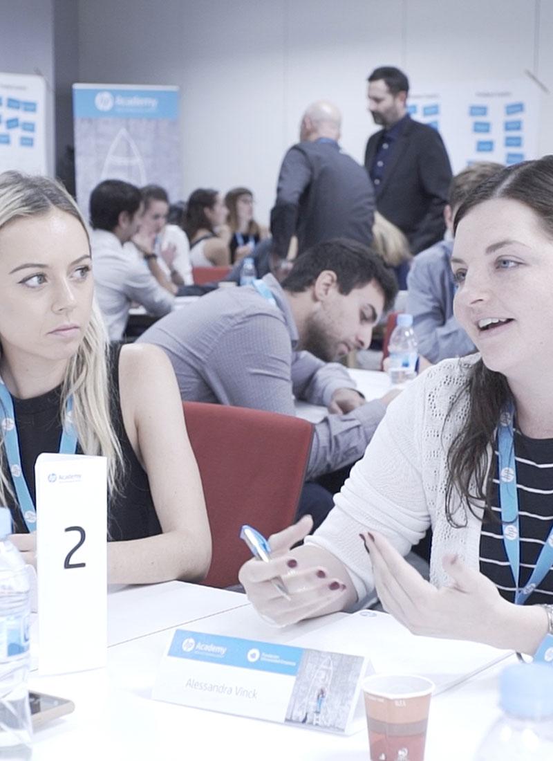 Programa HP Academy, de HP y FUE (Fundación Universidad España)