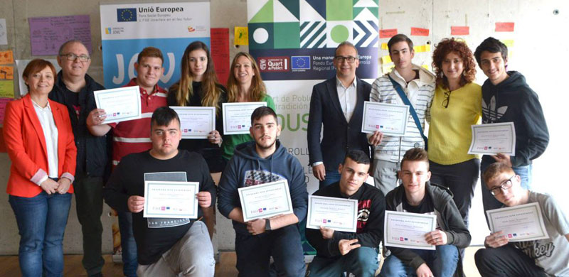 Programa Jove Oportunitat, Instituto Valenciano de Juventud